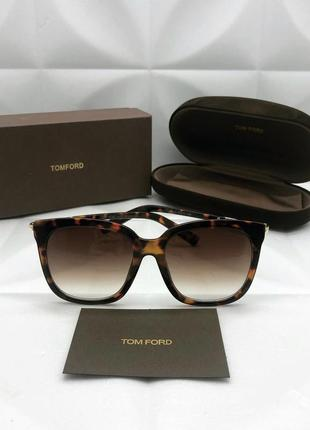 Брендовые солнцезащитные очки леопард