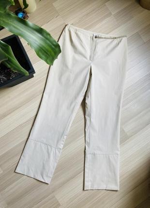 Annette gortz германия брюки нюдовые штаны