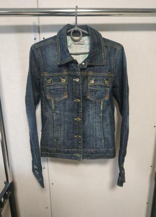 Джинсовый пиджак размер евро 36