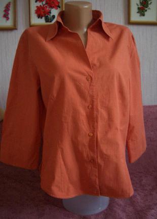 Коттон 100%: блузочка marco pecci  р. 38-40
