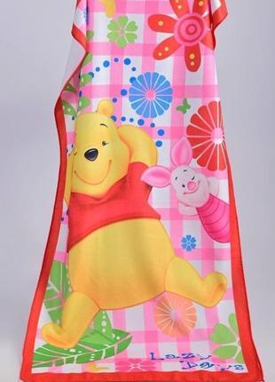 Полотенце пляжное  для девочки
