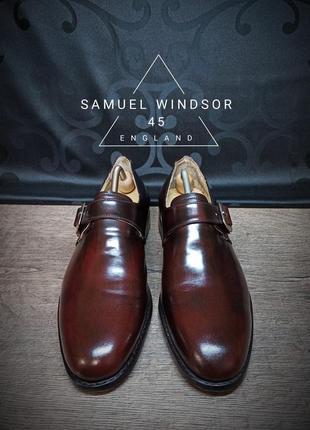 Туфли samuel windsor 45p (30.5 cm) england