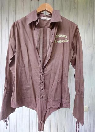 Silvian heach. рубашка-блузка-боди.