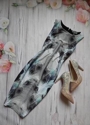 Платье next) красивая расцветка🌈🌈 с эффектом утяжки😍😍