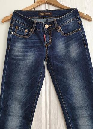 Джинсы с невысокой талией турция модные джинсы s-xs