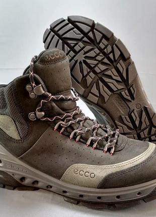 Ecco biom кожаные трекинговые ботинки р. 37