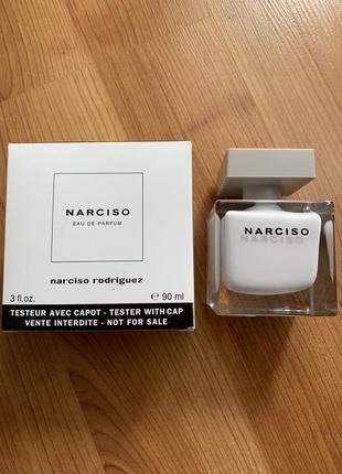 Женские духи narciso rodriguez narciso eau de parfum tester 90 ml.