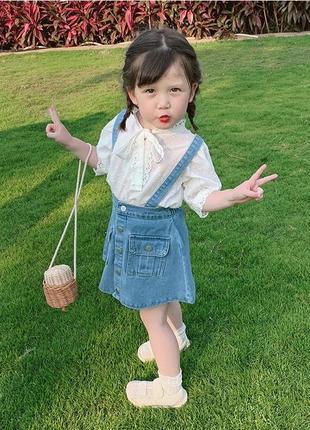 Модный костюм девочке