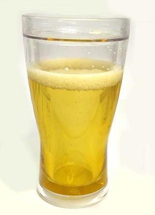 Пивной стакан непроливайка 420ml