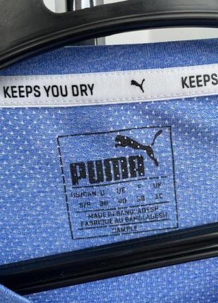 Puma футболка спортивная с лого для спорта повседневная оригинал5 фото