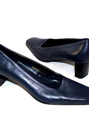 Туфли 37 р janet d. германия кожа оригинал
