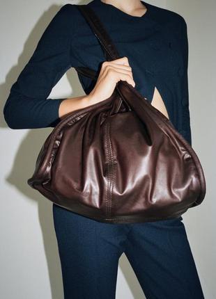 Большая сумка tote на плечо зара zara