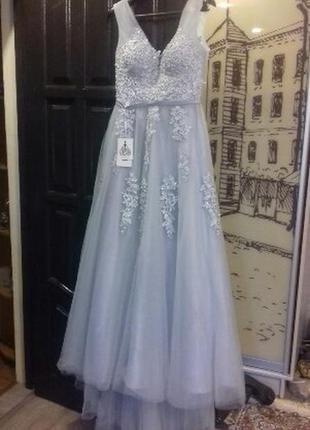 Шикарное новое  вечернее платье , для  новогодней фотоссесии6 фото