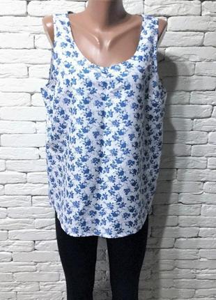 Новая лёгкая блуза-безрукавка