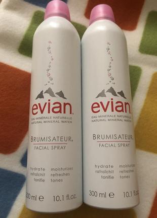 Evian термальная вода 300 мл