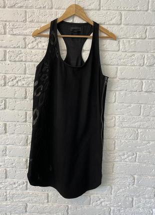 Чёрное джинсовое платье diesel black gold
