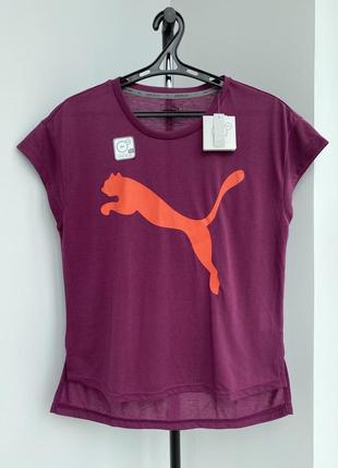 Puma футболка з логотипом оригинал повседневная спортивная