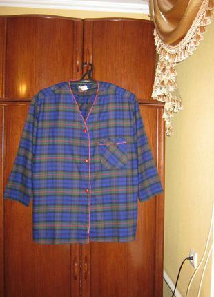 Пижама оверсайз,victoria's secret, 100% хлопок, размер l/xl новая с этикетками