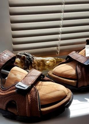 Сандалии кожаные люкс класа tbs original франция