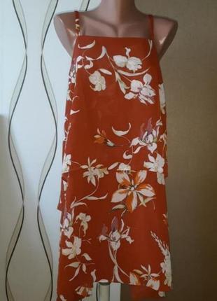 Красмвое платье - сарафан