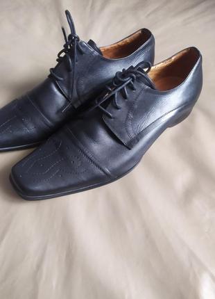 One six sive натуральная мягкая кожа,туфли премиум класса