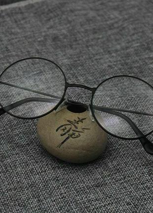Круглые прозрачные очки