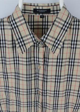 Клетчатая рубашка burberry london