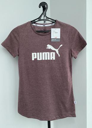 Puma футболка оригинал с логотипом повседневная спортивная