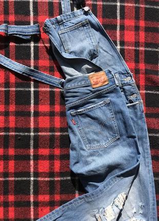 Комбенизон костюм джинсовый levi's левайс оригинал