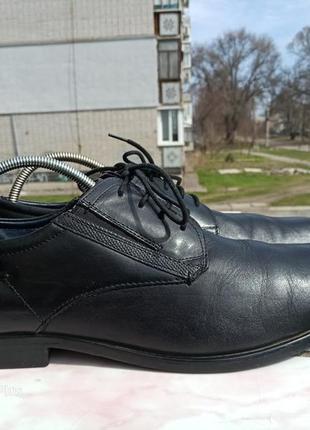 Топовые туфли bugаtti натуральная кожа 48 разм