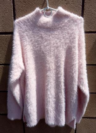 ⛔бесплатная доставка мист экспресс ⛔мягкий оверсайз свитер травка.