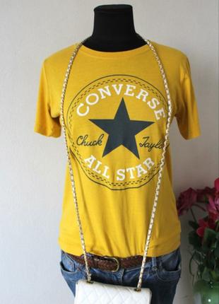 Новая футболка converse