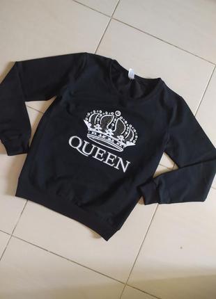 Свитшот/ кофта /queen/ кофточка/ свитер