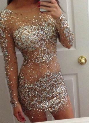 Вечернее платье jovani 7757. оригинал!
