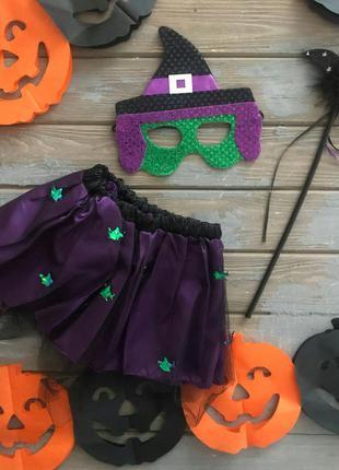 Набор ведьма на хэллоуин для девочки 2-3 года