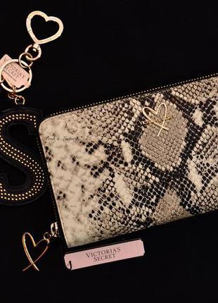 Кошелек, клатч, портмоне викториас сикрет, *wild python large wallet*, victoria's secret
