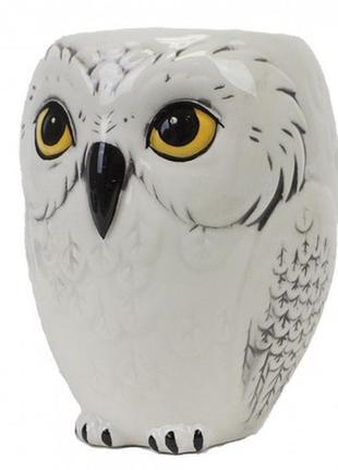 Кружка чашка фигурная сова хедвиг
