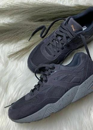 Шикарные кросовки puma из натурального замша