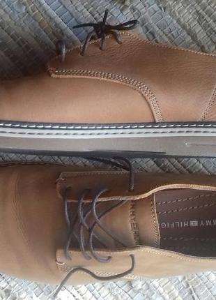 Туфли мужские tommy hilfiger,кожа,р.44-45