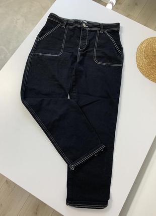 Чёрные джинсы чиносы италия 🇮🇹
