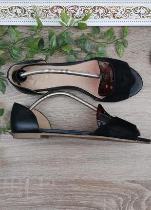 🌿38🌿европа🇪🇺 aldo. кожа. фирменные качественные открытые туфли