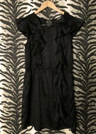 Красивое, стильное, леопардовое платье. размер s-m.