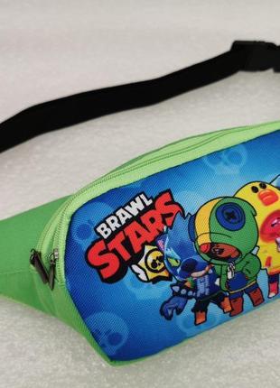 Сумка детская на пояс бананка спортивная сумка