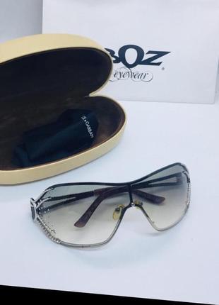 Светлые очки trussardi наст стразы swarovski оригинал купила в италии