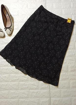 🔥sale юбка из натуральной ткани р.16