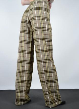 Красивые женские штаны burberry brit nova брюки для отдыха