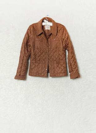 Куртка коричневая медная new look