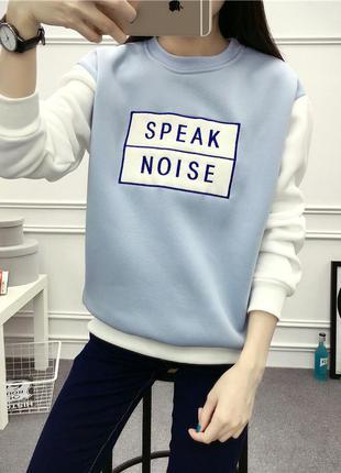Теплый свитер - свитшот1