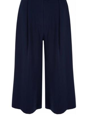 Кюлоты, широкие укороченные брюки, юбка-брюки next