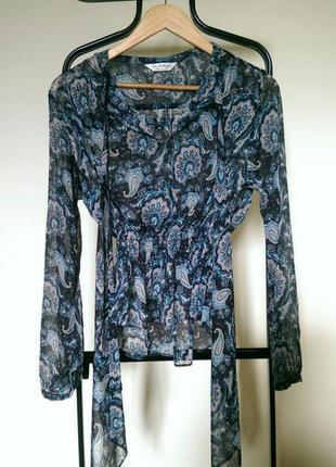 Шифонова блуза miss selfridge